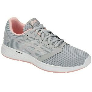 ASICS Running Shoes Patriot 10 Sz 7.5 Gray Pink